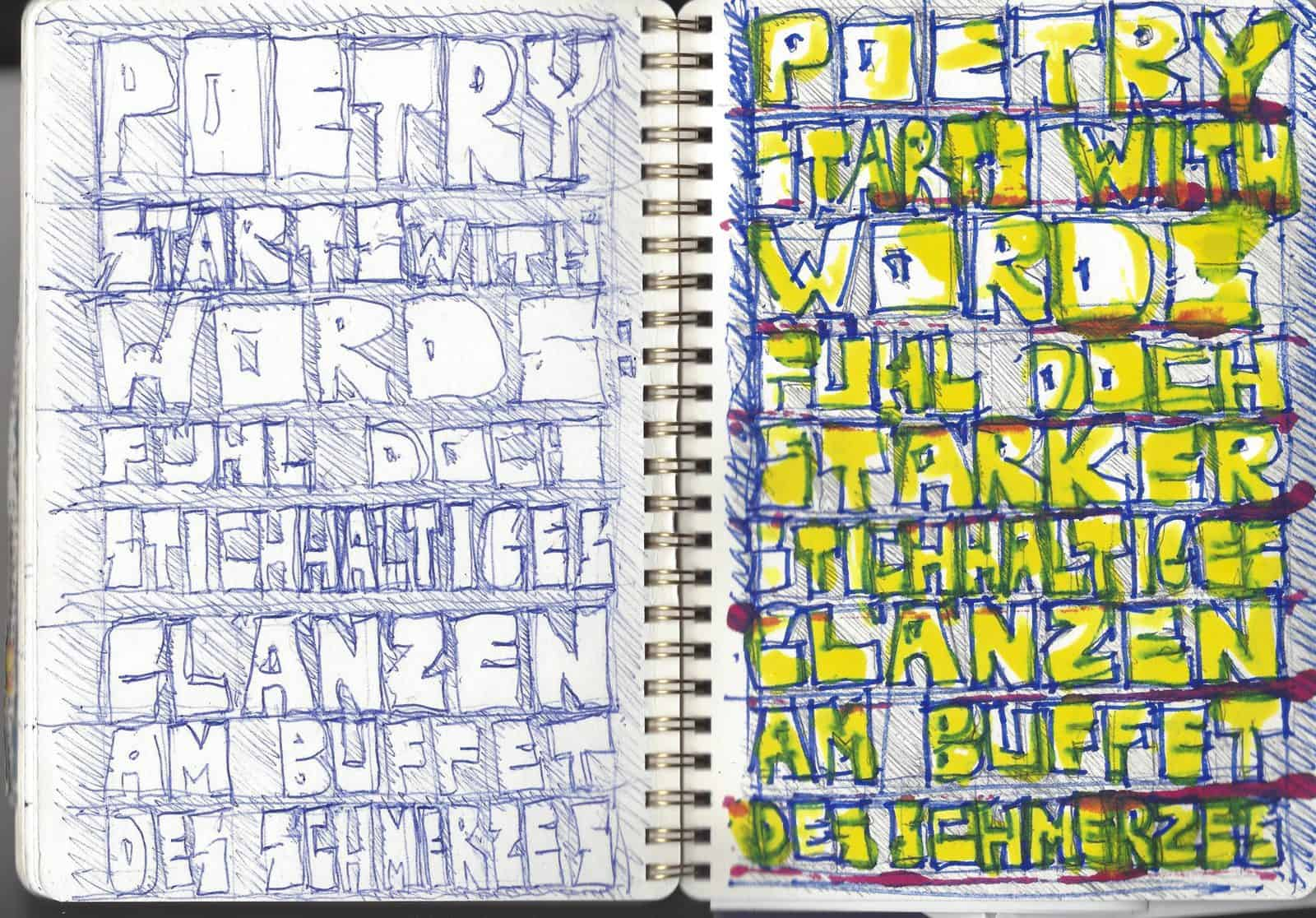 poetry starts with words phase IV