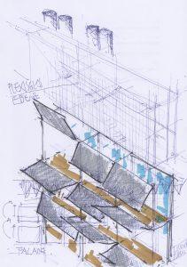 Apartment-House Facade